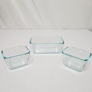 Pyrex lot of 3 Baking Dishes